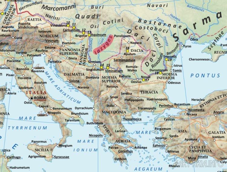 языги Европа