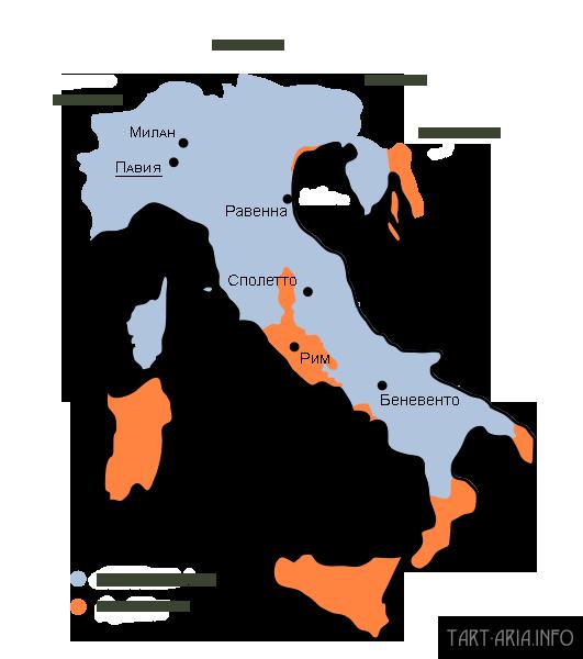 Лангобардия в 751