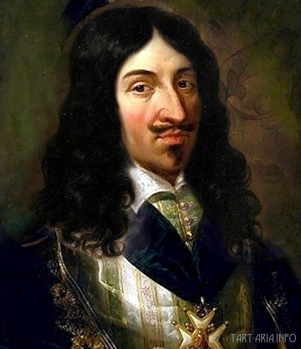 Генрих III в паричке