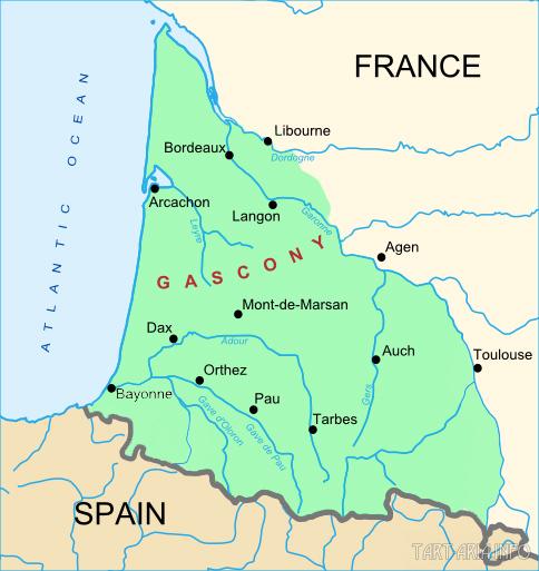 Гасконь провинция