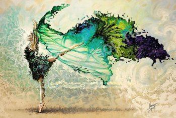 Танцующая и ветер