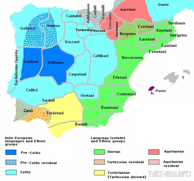 кельтиберы карта