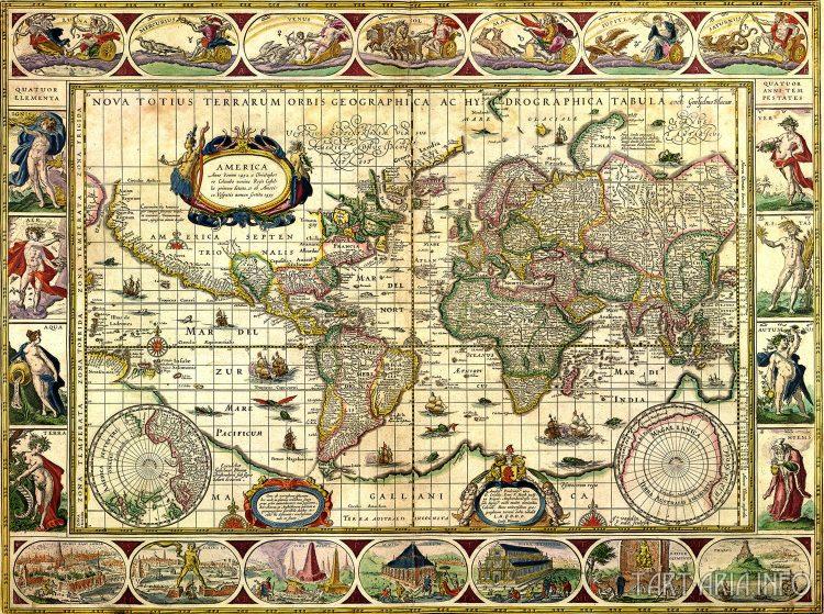 Карта артели Блау