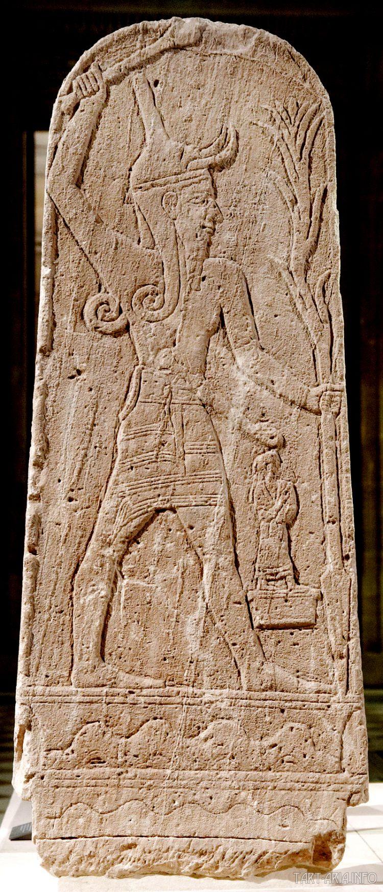 Baal Canaanite god