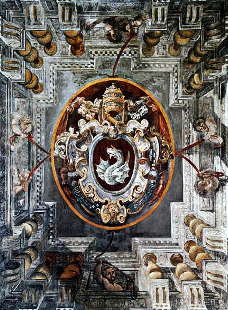 герб Григория XIII