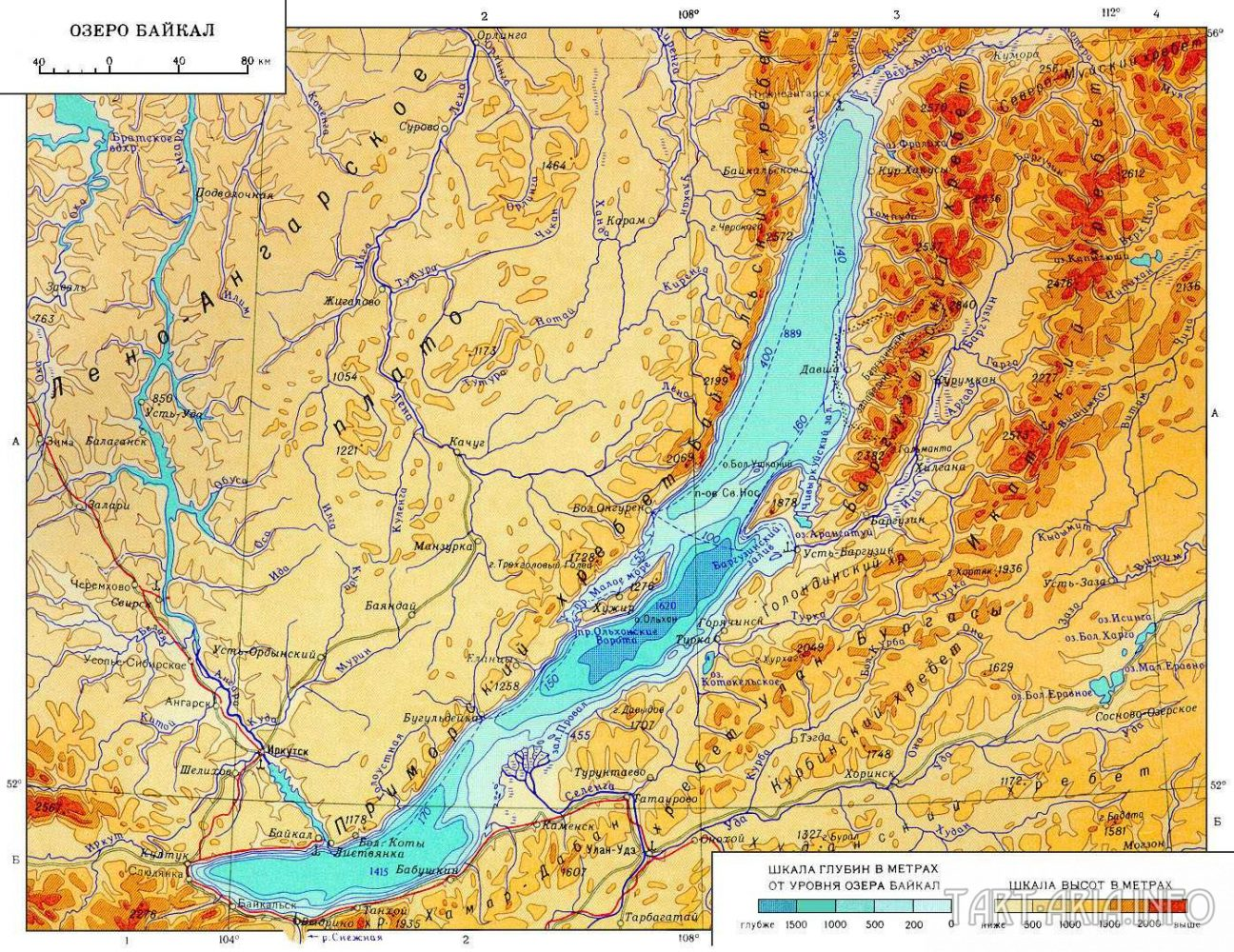это картинки озера байкал карта собрано огромное количество