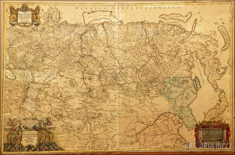 Рис. 26. Philipp Johann Strahlenberg's Map of Central Asia, 1730. (Карта Центральной Азии)