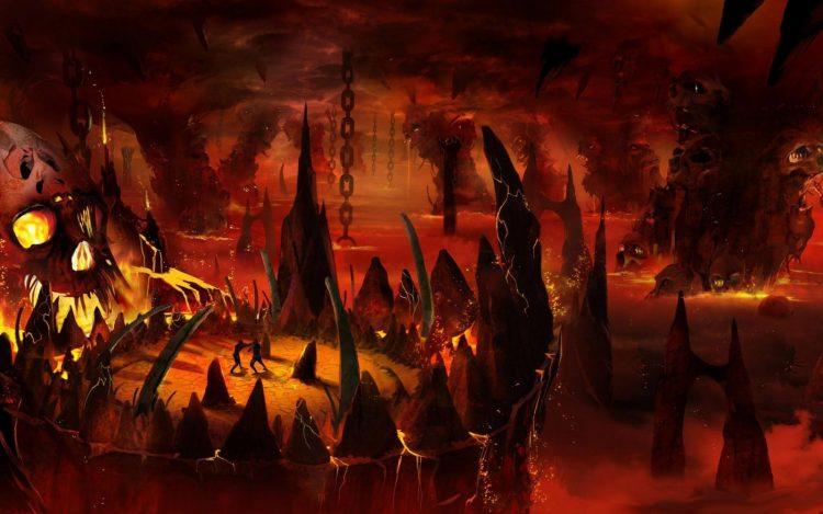 Вид ада.
