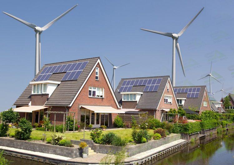 Альтернативная энергетика: солнечный свет и ветер