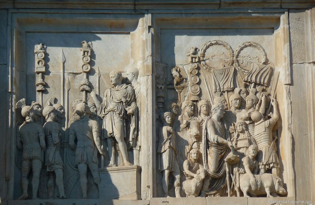 О чём молчали арки Рима. Часть 2 poslan7777