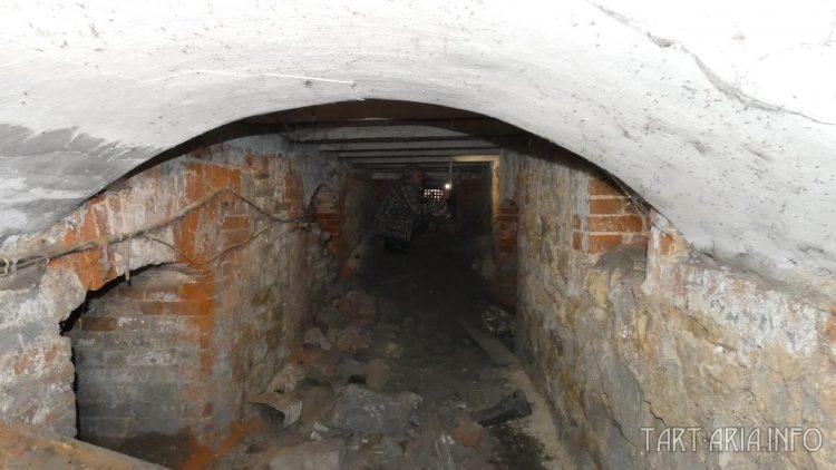 Уклон в подвале