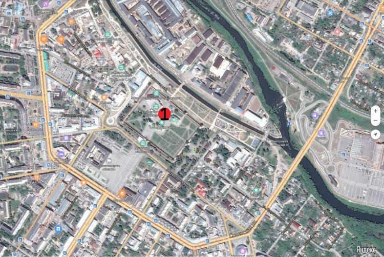 Поз. 1. Место раскопок в Тульском кремле, осенью 2019 года