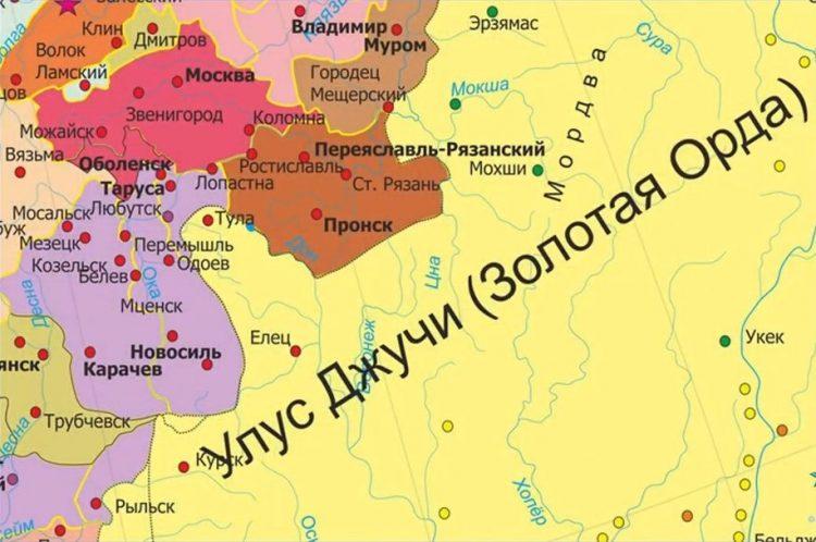 Тула - часть Золотой Орды