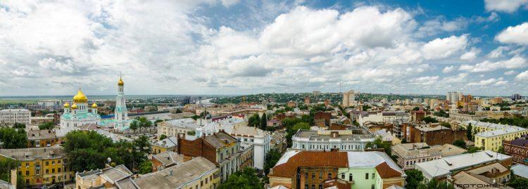 Панорама города Тула