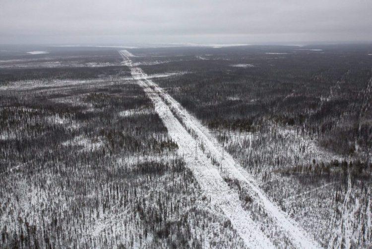 Панорамный вид на лес под г. Мирным, Россия. Фото: Andrey Rudakov/Bloomberg