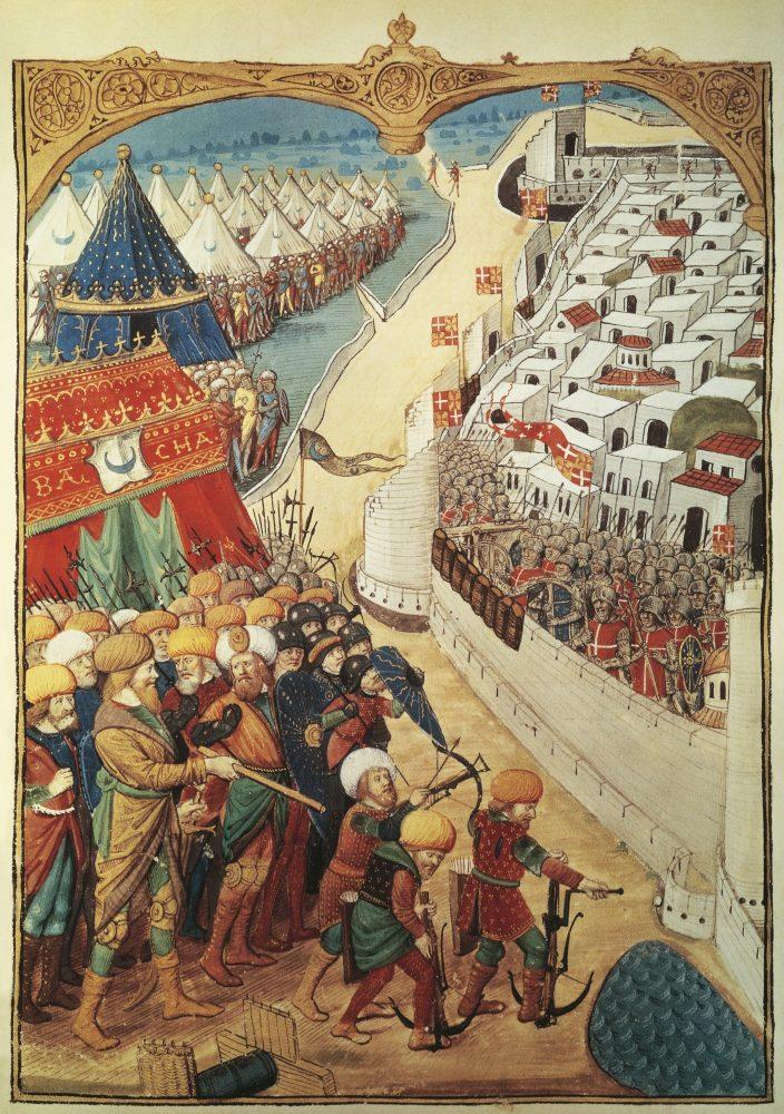 Осада Родоса в 1480 году.