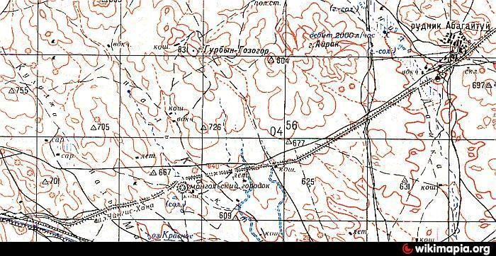 карта Сибвед Sibved